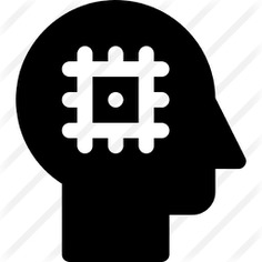 See more icon inspiration related to robotic, brain, robot, electronics, chip, head, people and technology on Flaticon.