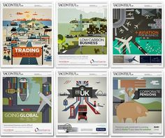 Illustrations: Raconteur / The Times Newspaper (UK) on the Behance Network