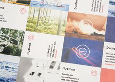 Duotone by Tsto #business #branding #minimalism #identity #logo #cards