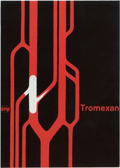 Max Schmid — Geigy poster (1959)