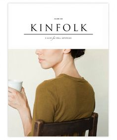 Designspirations #kinfolk #print #magazine