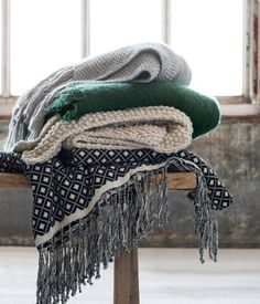 Jacquard-weave Throws, H&M Home