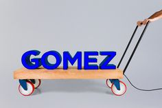 Gomez designed by Savvy #graphics #environmental #identity
