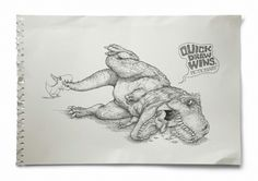 Pictionary: T-Rex | Ads of the World™ #advertisement #ogilvy