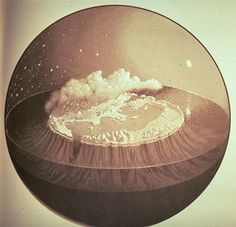 FFFFOUND! | 288 - Okeanos and Oikoumenè: Homer's Snowdome « Strange Maps #world