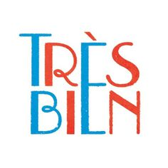 Très bien #type #french #typography