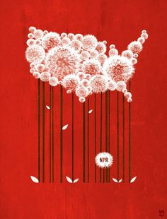 Designersgotoheaven.com NPR's 2011 calendar by Jason Kernevich and Dustin Summers. #usa
