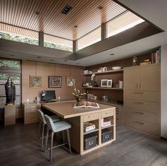home office, Seattle / Stuart Silk Architects