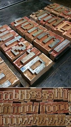 Emigre News #woodtype #letterpress