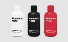 Helvetica #packaging #helvetica #branding #bottle