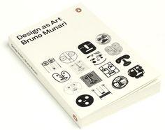 Design as Art #munari #bruno #book #cover #penguin
