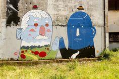 Smemo | Agostino Iacurci #iacurci #mural #agostino