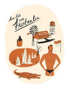 Nicholas John Frith #illustration #australia #texture