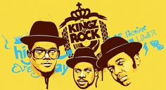 my KINGZ (of) ROCK on the Behance Network #illustration #5ive