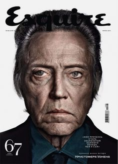 Esquire Russia: Christopher Walken | iainclaridge.net #walken #christopher #magazine