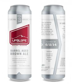 Upslope Lee Hill Series Cans #packaging #beer