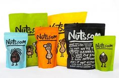 Rediseño de Nuts.com a cargo de Pentagram #packaging #pentagram