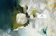 Exclusive Preview of Kinfolk Magazine Volume 2 | OEN #layout #floral #editorial #painting