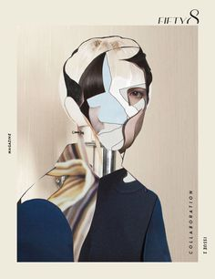 FIFTY8 MAGAZINE Issue 1 on Behance #collage