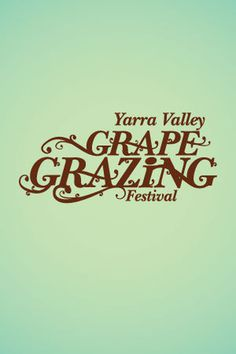 grapegrazing #logo #grapes #festival #wine