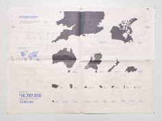 Coen / Visual Design #donations #infograph #leeuwen #infographic #coen #countries #atlas