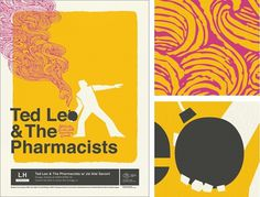 Spike Press #leo #ted #print #design #illustration #poster #pharmacist