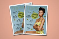 pazmartinezcapuz.com #topshop #lettering #handwriting #2013 #design #cover #summer #spring #layout #editorial #magazine