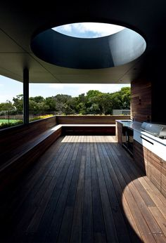 CJWHO ™ (Architects EAT | Mornington Peninsula house) #terrace #design #wood #photography #architecture #luxury