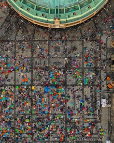 Mexico City From Above: Stunning Drone Photography by Roberto H