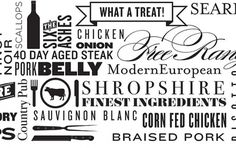 Design;Defined | www.designdefined.co.uk #menu #composition #resturant #typography