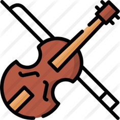 See more icon inspiration related to cultures, music and multimedia, string instrument, musical instrument, orchestra, violin and music on Flaticon.