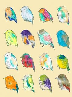 All sizes | card | Flickr - Photo Sharing! #birds #illustration
