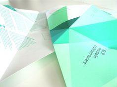 0 Por Ciento >> Espacio web especializado en grafismo #folds #paper #typography