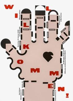 willkommen poster by Dafi Kühne.