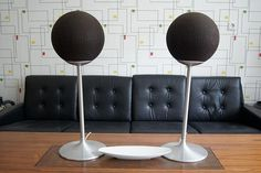 WANKEN - The Blog of Shelby White » Mid-Century German ITT Ball Speakers