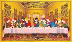 Religious Painting Series by Hiroshi Mori