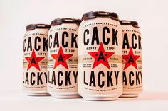 cack a lacky, cack, beer, cans, star