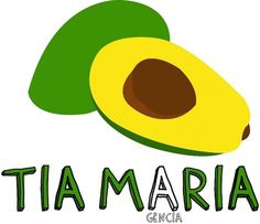 Tia Maria #illustration #maria #tia #avocados