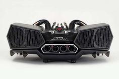 Meet the EsaVox Lamborghini Bluetooth Speaker from the Italian audio geniuses at, Ixoost. #iXOOST #Modena #HandMade #MadeInItaly #Speakers #