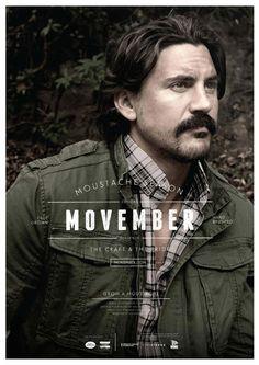 Moustache Season Movember 2011 #movember #poster #moustache