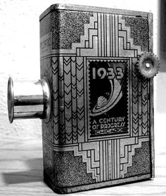 1933 Chicago #camera #vintage #modern