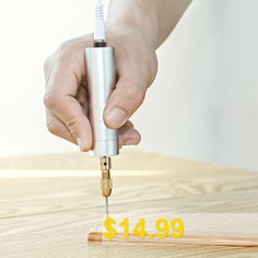 Eazmaker #Engraving #Pen #Micro #Printer #Mini #Electric #Grinder #- #SILVER
