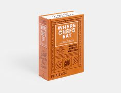 Where Chefs Eat - Book Cover