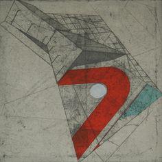 Bronwen Sleigh / Brentwood #abstract #bronwen #sleigh #brentwood #etching #art