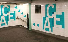 Reimagining the MTA Francesca Campanella #train #travel #wayfinding #subway #signage #york #nyc #transportation #new