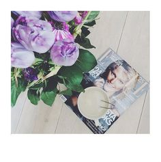 Likes | Tumblr #inspiration #coffee #magazine #flowers