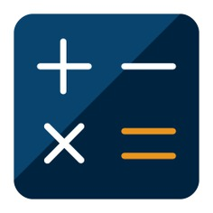 See more icon inspiration related to calculator, maths, technology, calculating, business and finance, sings and technological on Flaticon.