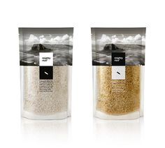 Mighty Rice #packaging #minimal #rice