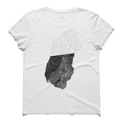#amorf #white #tee #tshirt #miróferra #form #polygon #stone #alisenturk