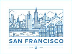 San Francisco Office #illustration